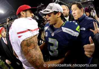 """Russell Wilson: Colin Kaepernick was """"trying to do the right thing"""""""
