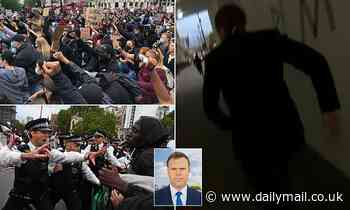Ben Avery ambushed during live cross from London George Floyd protest
