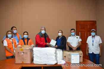 Alcalde de Sonzacate sigue entregando insumos médicos a profesionales de la salud - Diario La Huella