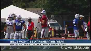Bills training camp will not be held at SJFC