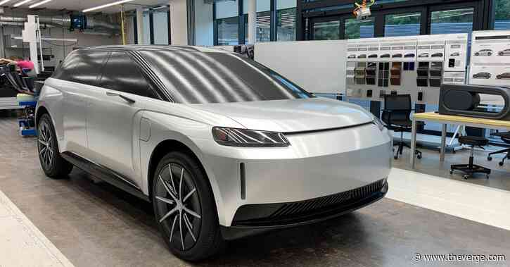 Dyson shares new photos and videos of its canceled electric SUV