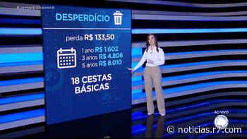 JR Dinheiro: Patricia Lages mostra dados sobre o desperdício de alimentos - R7