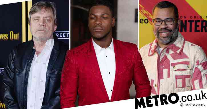 Mark Hamill 'never been prouder' of John Boyega as Jordan Peele assures star he has his back amid anti-racism protest