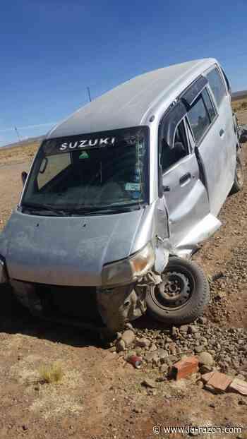 Nueve personas quedan heridas tras un accidente en la carretera Patacamaya-Tambo Quemado - La Razón (Bolivia)