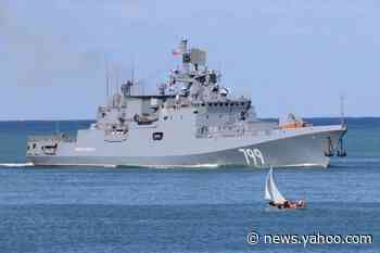 At It Again: Russia's Black Sea Fleet Conducts Fresh Exercises