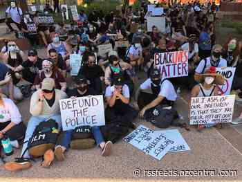 Arizona police protests: Groups gather on Wednesday at Phoenix City Hall, public parks