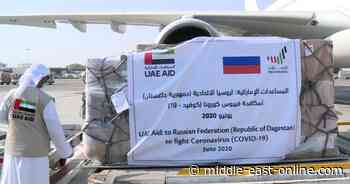 UAE sends medical supplies to Russia's Dagestan, Grozny   MEO - Middle East Online