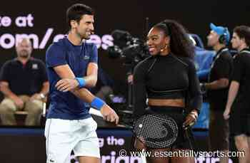 WATCH: When Novak Djokovic Played A Light Hearted Match With Serena Williams - Essentially Sports