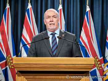 COVID-19: Horgan promises help for B.C.'s devastated tourism industry