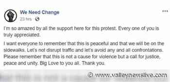Peaceful protest planned to march through Grand Forks on Thursday - Valley News Live