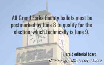 Our view: Don't delay; it's time to mail ballots - Grand Forks Herald