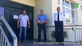 Helbedündorf hat einen neuen Kontaktbereichsbeamten - Thüringer Allgemeine