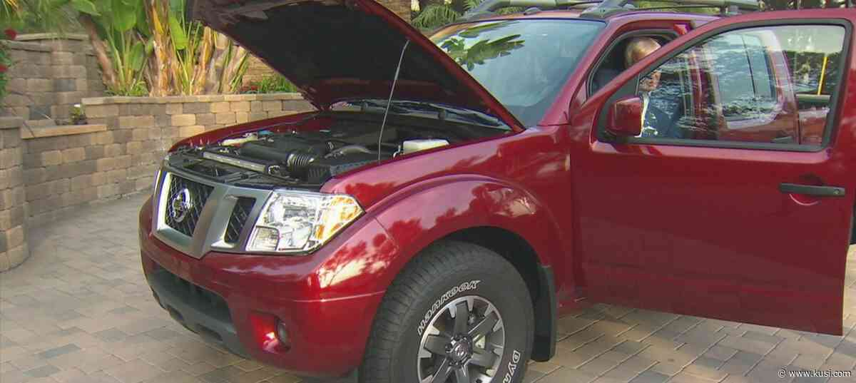 Dave Stall: 2020 Nissan Frontier - - KUSI