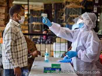 Coronavirus live updates: Covid positivity rate doubles in Delhi - Times of India