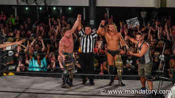 Kenny Omega & Adam Page Retain AEW Tag Titles Against Jimmy Havoc & Kip Sabian