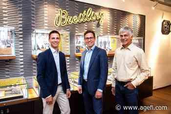 Lionel Meylan déploie ses ailes à Lausanne avec Breitling - AGEFI.com