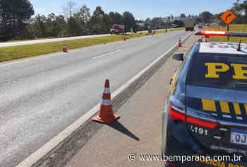 Acidente na BR-116 mata motociclista e pedestre em Quatro Barras - Bem Paraná