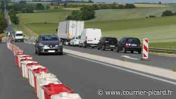 La route D929 entre Amiens et Albert en travaux jusqu'au 10 juin - Courrier Picard