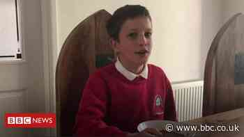 Barnsley pupil's video diary on first day back at school