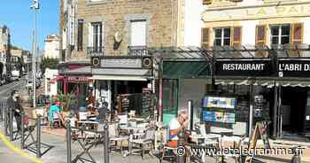 Le retour bénéfique des terrasses à Dinard - Le Télégramme
