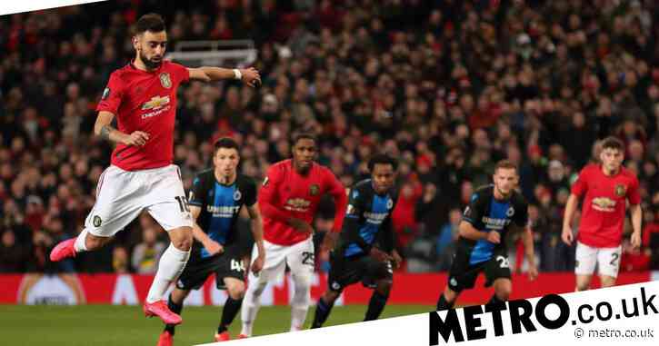 Manchester United star Bruno Fernandes reveals inspiration behind penalty technique