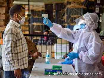 Coronavirus live updates: 1 lakh beat virus in India, recovery rate at 48% - Times of India