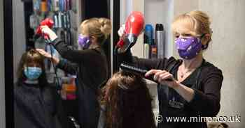 Boris 'wants hairdressers to reopen ahead of schedule with dentist style PPE'