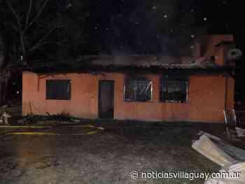 Incendio total del contenido de una vivienda en «La Esmeralda» - Noticias de Villaguay