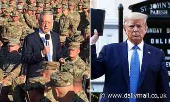 'The world's most overrated General': Donald Trump slams Jim Mattis following scalding op-ed
