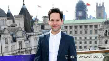 Paul Rudd admits he still fees like an imposter as he gives career advice - Yahoo Sport UK