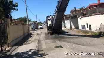 Fiumicino, nuovo look per le strade ei marciapiedi di Isola Sacra - IlFaroOnline.it