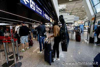 Copia di Coronavirus,riapertura delle regioni:passeggeri all'aeroporto di Roma Fiumicino - Affaritaliani.it
