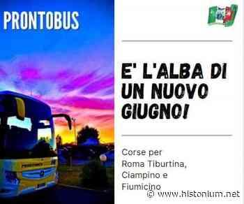 Prontobus%2C+corse+giornaliere+per+Roma+Tiburtina%2C+Fiumicino+e+Ciampino - Histonium.net