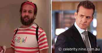 Suits star Gabriel Macht wears Aussie wife Jacinda Barrett's Sportsgirl top in parody video - 9Celebrity