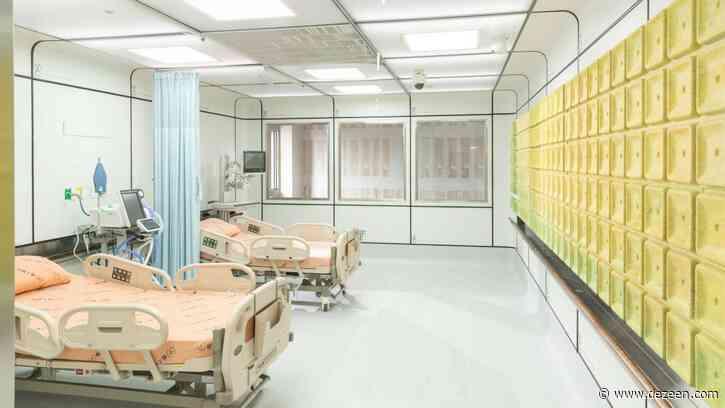 Miniwiz builds modular hospital ward prototype at Taipei hospital