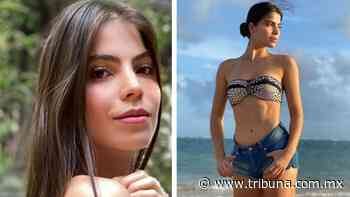 Esmeralda Ugalde, hermana de Ana Bárbara, añora la playa con coqueto bikini - TRIBUNA