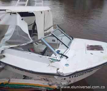 Transbordador destruye lancha ambulancia en Soplaviento   EL UNIVERSAL - Cartagena - El Universal - Colombia