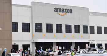 Amazon sued by NYC workers seeking coronavirus protection, not money - NBC News