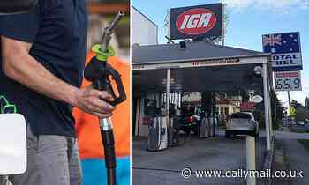 Misery at the bowser: Petrol prices soar ahead of the long weekend