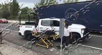 Familia herida en volcadura de auto, en Puente Nacional - NORESTE