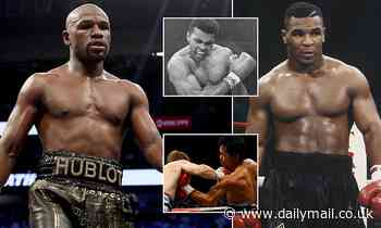 Floyd Mayweather tops list of best boxers of all time but there's no place for Mike Tyson in Top 10 - Daily Mail