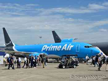 Amazon adds 12 planes to its growing air-cargo fleet that's encroaching on FedEx and UPS