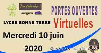 PEZENAS - Portes ouvertes virtuelles au lycée agricole Bonne Terre le mercredi 10 juin - Hérault-Tribune