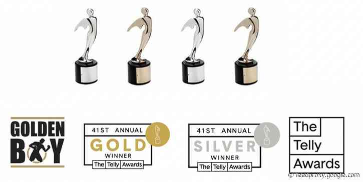 Golden Boy Wins 4 Telly Awards in Third Consecutive Year of Victories