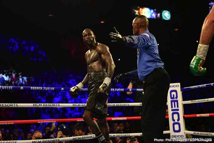 Wilder would be a FOOL to fight Fury after surgery in 2020 – Johnny Nelson