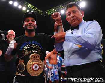 Andrew Cancio battles Manny Rojas on July 16 on ESPN