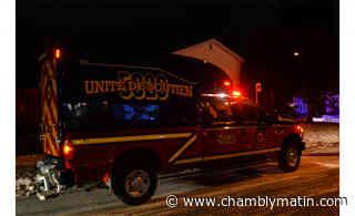 Une fuite de gaz force l'évacuation de plusieurs résidences à Chambly - Chambly Matin - Journal le Chambly Matin, Montérégie Quotidien - Chambly Matin