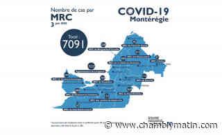 COVID-19 : état de la situation en Montérégie - Chambly Matin - Journal le Chambly Matin, Montérégie Quotidien - Chambly Matin