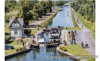 Canal de Chambly : report de la saison de navigation - Chambly Matin - Journal le Chambly Matin, Montérégie Quotidien - Chambly Matin
