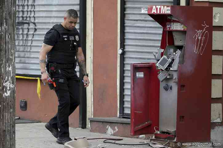 People are blowing up, or just taking, ATMs in Philadelphia